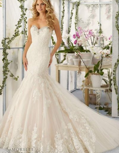 Morilee bridal gown